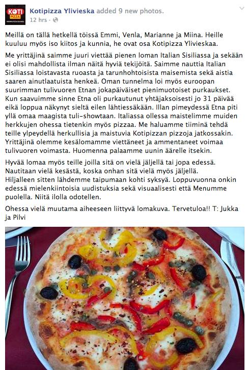 Kotipizza Ylivieska